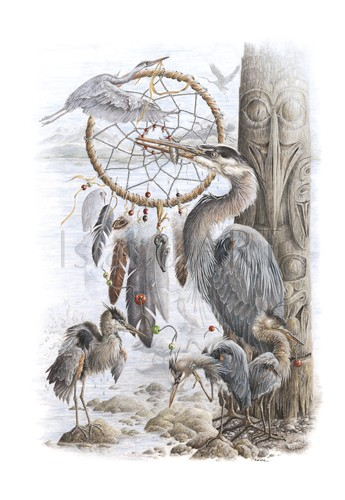 Judi Wild - Judi Wild - Spirits Of The Great Blue Heron