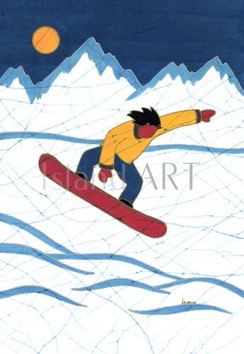 Lynn Blaikie - Lynn Blaikie - The Snowboarder