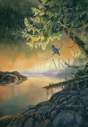 Mark Hobson - Mark Hobson - Kingfisher In The Morning Mist