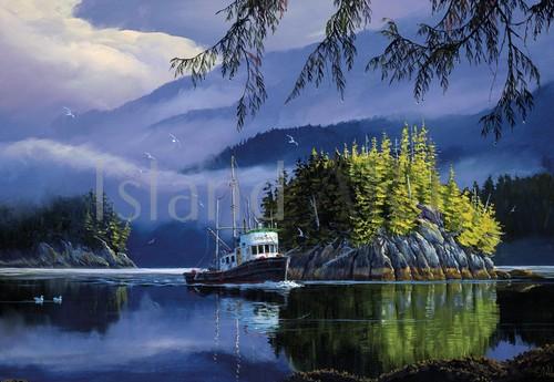 Mark Hobson - Mark Hobson - Lemmens Inlet Morning