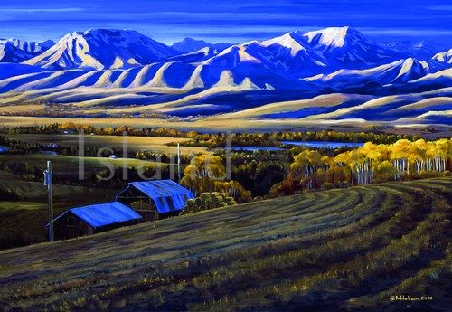 Mark Hobson - Mark Hobson - Rockies at Dawn