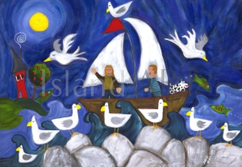 Shelly Atkinson - Shelly Atkinson - Sailing In The Moonlight