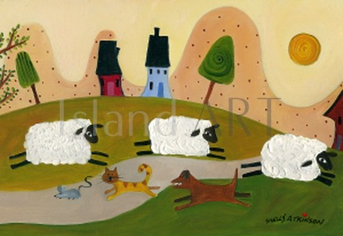 Shelly Atkinson - Shelly Atkinson - Sheep Chase