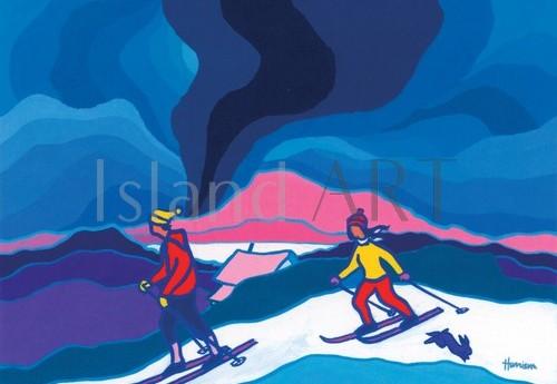 Ted Harrison - Ted Harrison - Ski Trail