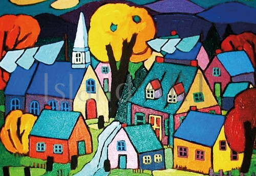 Terry Ananny - Terry Ananny - Autumn Village
